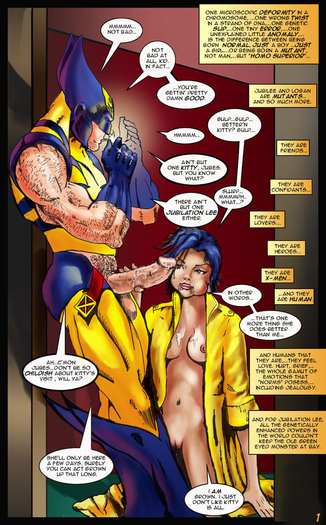 comic porn porn original media comic marvel jubilee
