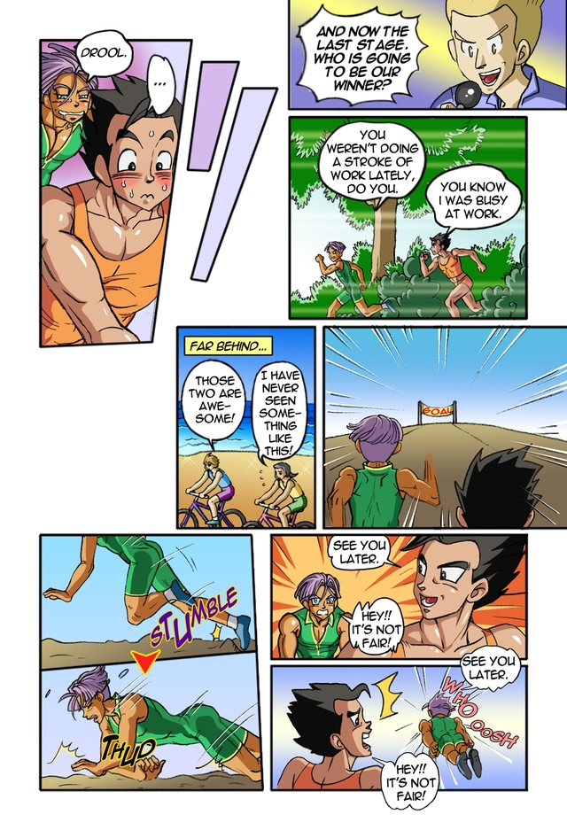 dragon ball z porn original media comics dragon ball kai heated competitioners