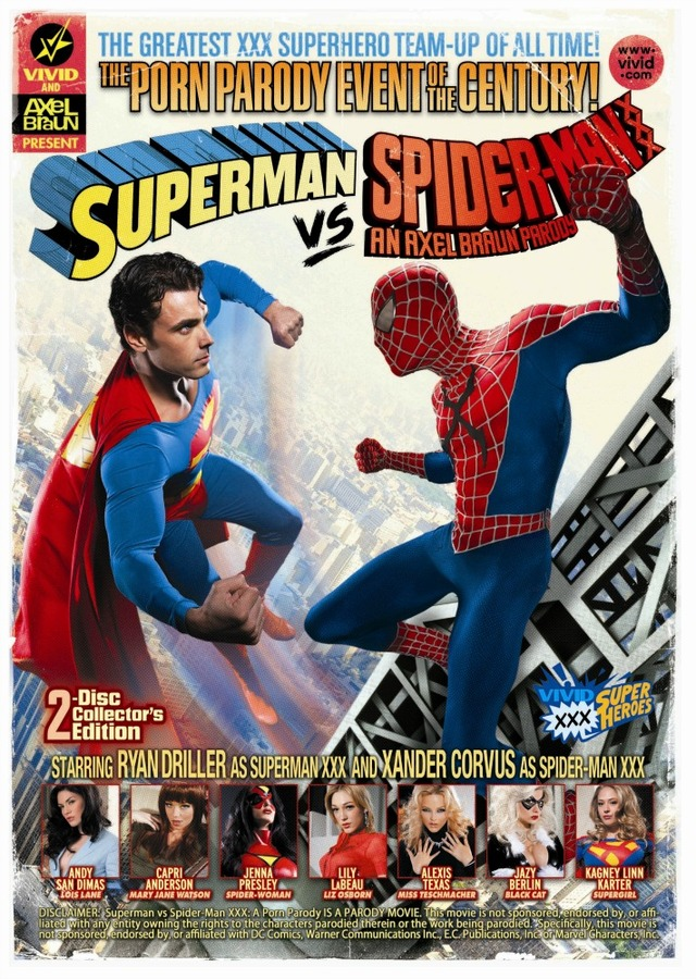 dvd porn porn xxx dvd man parody spider superman guide gift holiday culture racket