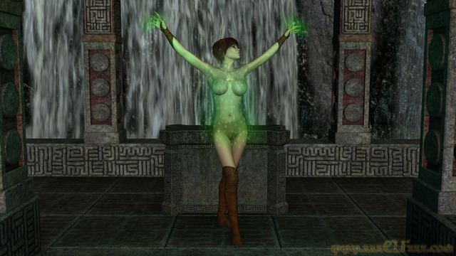 elf porn porn gallery preview fantasy elf cgi druid falls