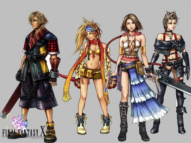 final fantasy porn girl girls from wallpapers fantasy final tidus hume