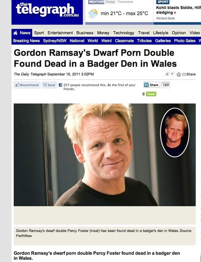 found porn porn pictures funny found double dwarf dca gordon ramsay