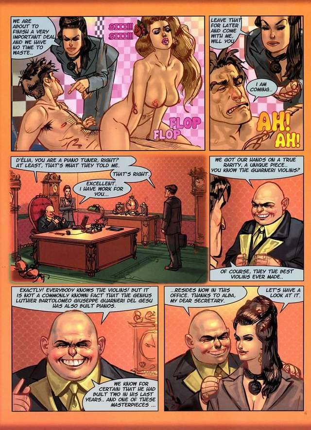 free porn comic porn hot busty chick from blonde behind comics