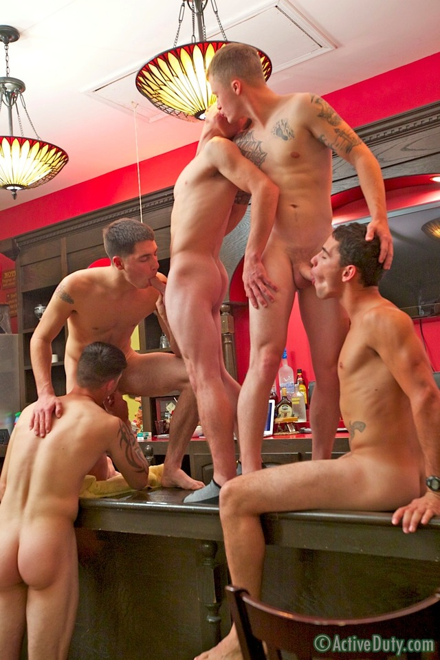 group porn porn gay guys group some nick orgy bar dustin five active duty rusty gunner bric zander