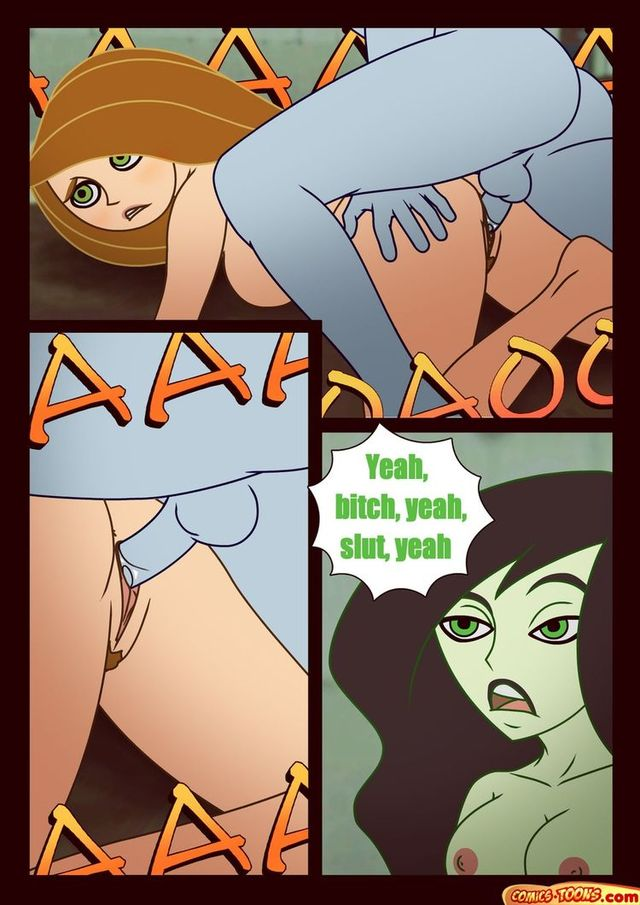 kim possible porn porn pics naked comic kim possible