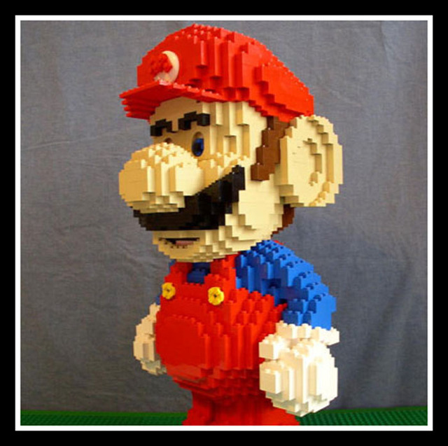 lego porn thats comments virginia down west massive mario lego road few blocks building shuts spill highway whoa