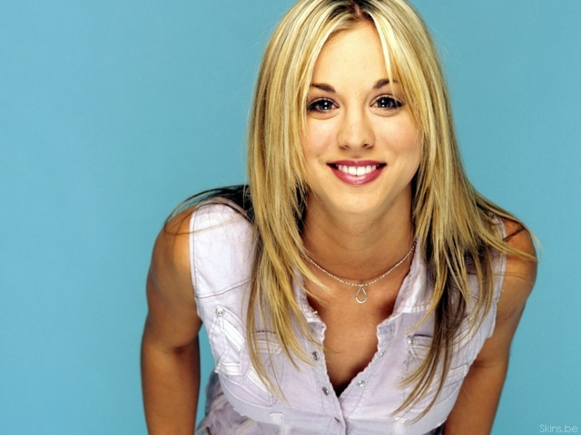 model porn wallpaper kaley cuoco