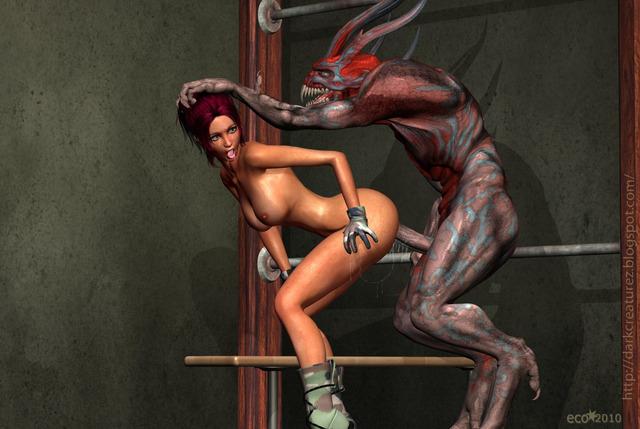 девушки и монстры порно фото