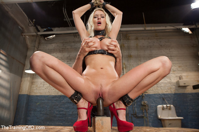 porn star in training posts bdsm bondage forced orgasm training riley belt evans whipping rope restraints thetrainingofo