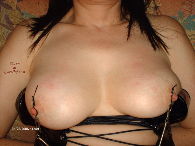 big tits and nipple pics pics gallery tits huge nipple clamps