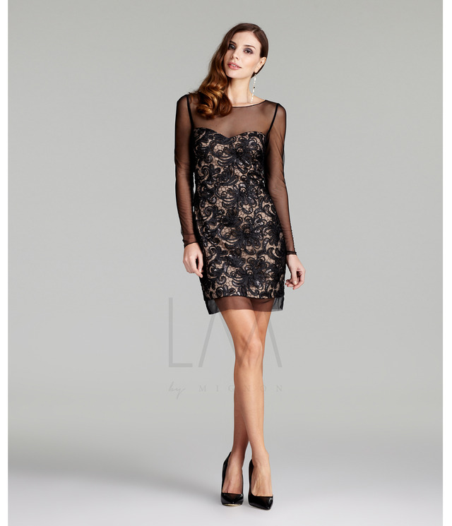 black nude pic nude black dress fall collection cocktail larger shear