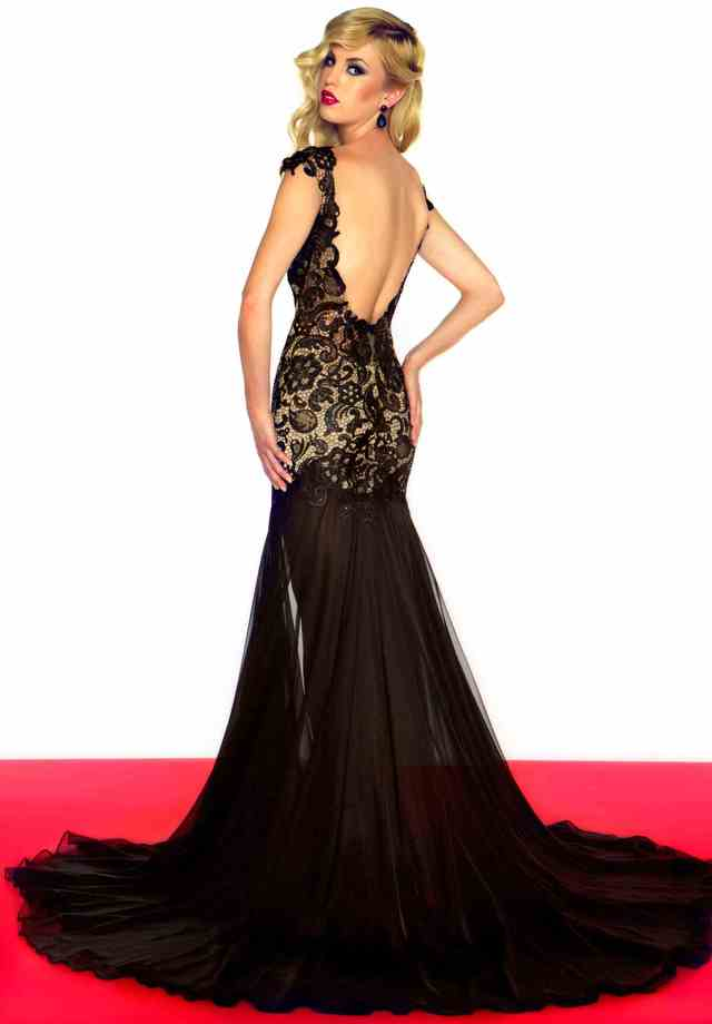 black nude pic nude black dress prom dresses macduggal