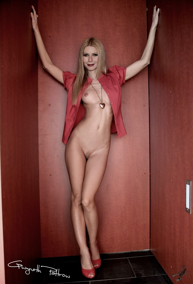 boobs and tits image sexy nude possing gwyneth paltrow