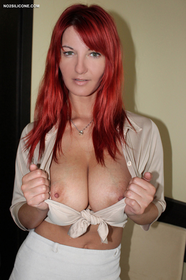 busty redhead pictures gallery hot busty redhead silicone vanessa