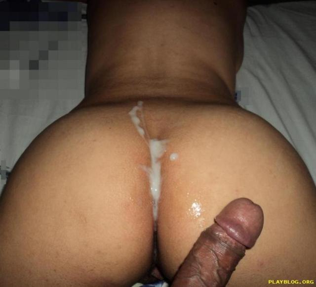 Ebony dildo cream
