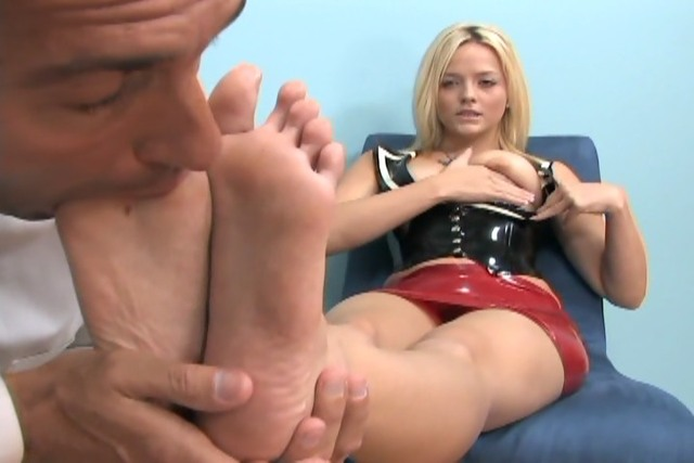 Full length footjob movies excellent