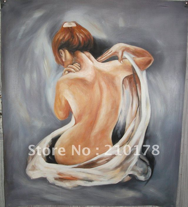 free art nude pictures free sexy female art nude woman lady best hand item oil shipping painting wall modern wsphoto decor wholesale