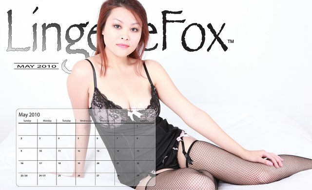 free pics lingerie free models model pinup lingerie may calendar lingeriefox