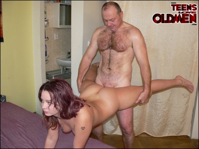 Old Man And Woman Porn