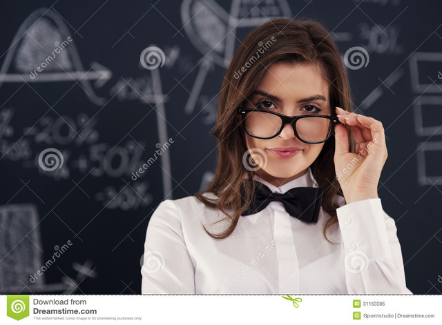 free teacher sexy free young glasses sexy woman teacher wearing stock royalty