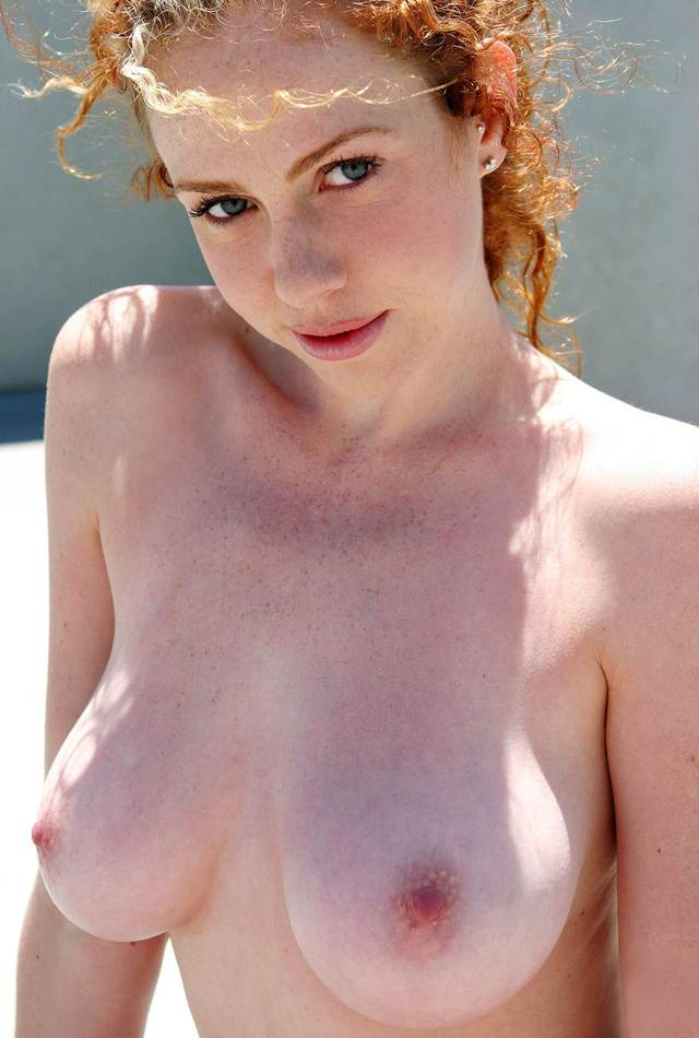 ginger porn pics original media tits blue ginger perfect eyes pointy dazzling nodules