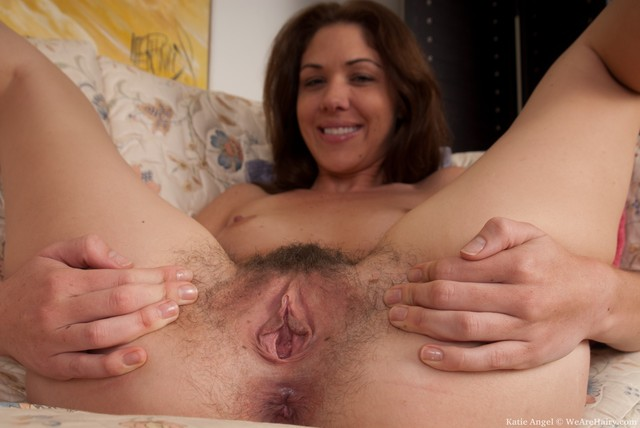 hairy bush pics beautiful pussy hairy spreads angel katie sofa katieangel