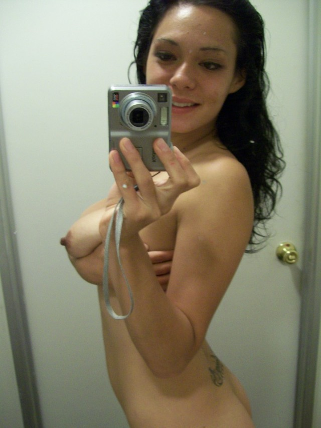 hot chicks naked free tits sexy april squeeze those selfshots