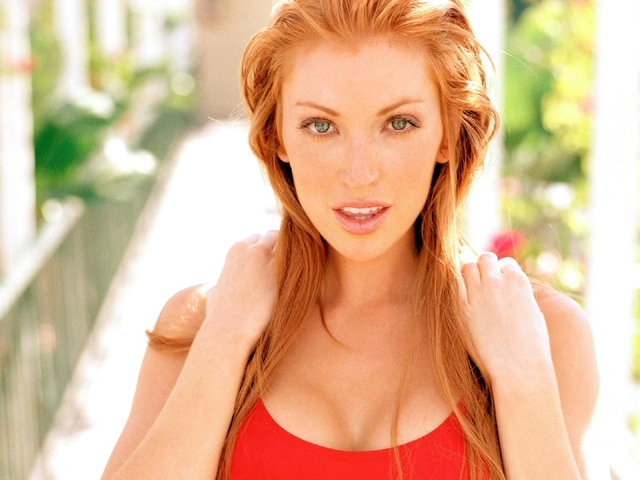 hot girls redhead angelica redhead actresses baywatch bridges