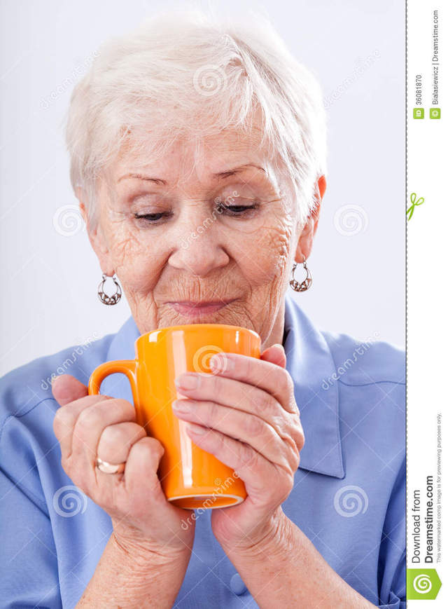 hot grandma pics photo hot drink stock grandma orange mug