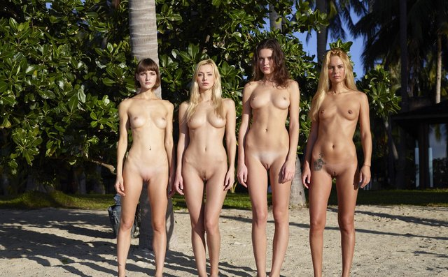 hot naked sluts picture hot four naked all sluts beach