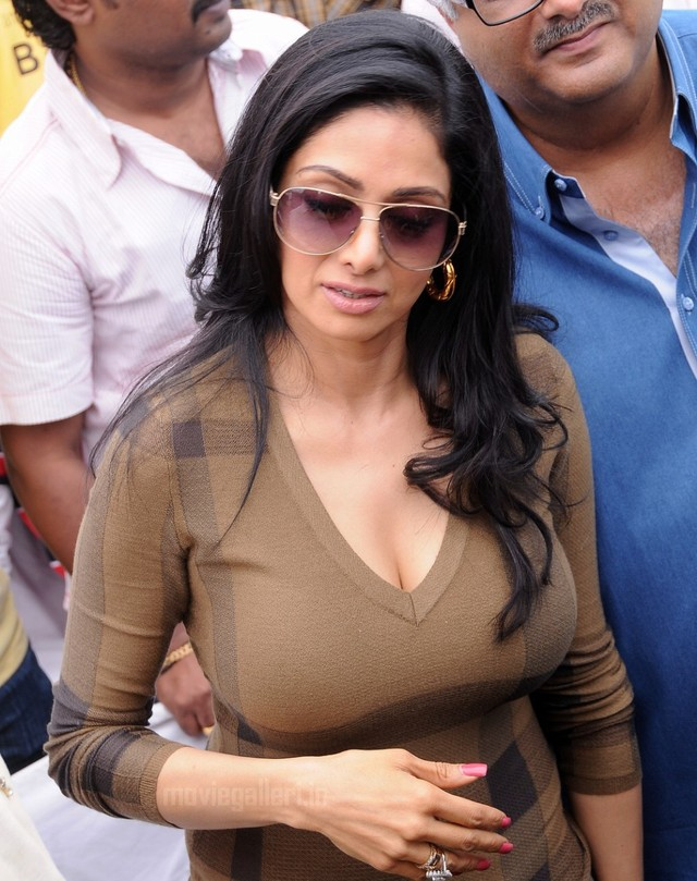 huge jugs pics hot actress photoshoot sridevi