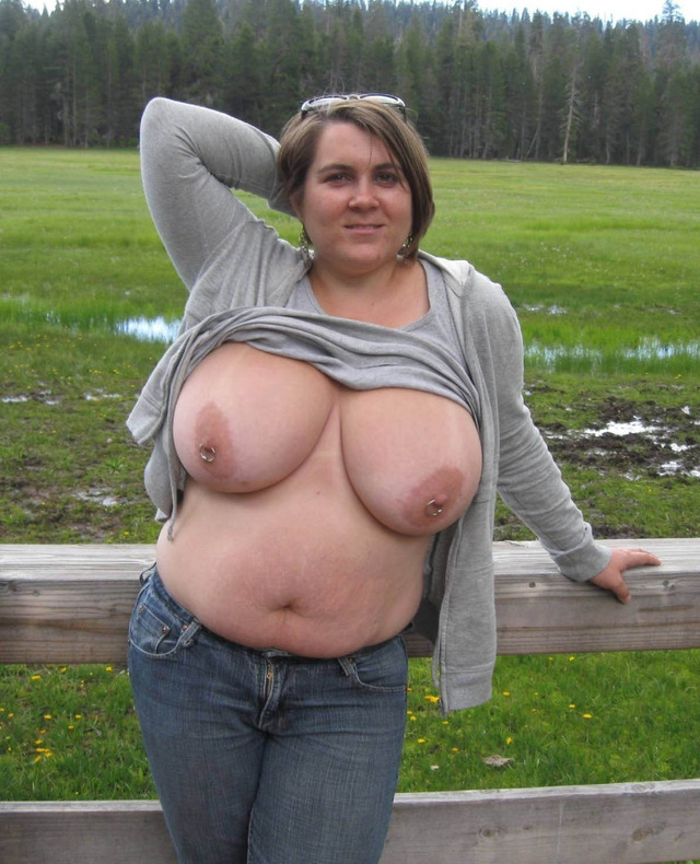 large breasts big nipples