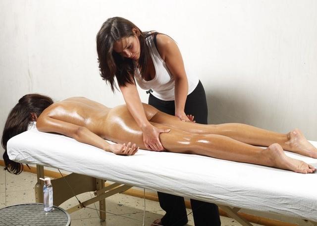 массаж в интимном месте фото