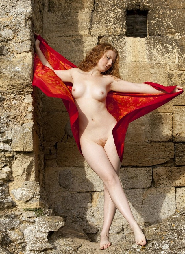 nude redhead wikipedia commons redhead nude red scarf