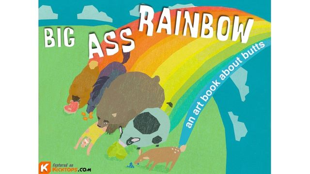 pic of a big ass original ass art assets butts about book projects rainbow