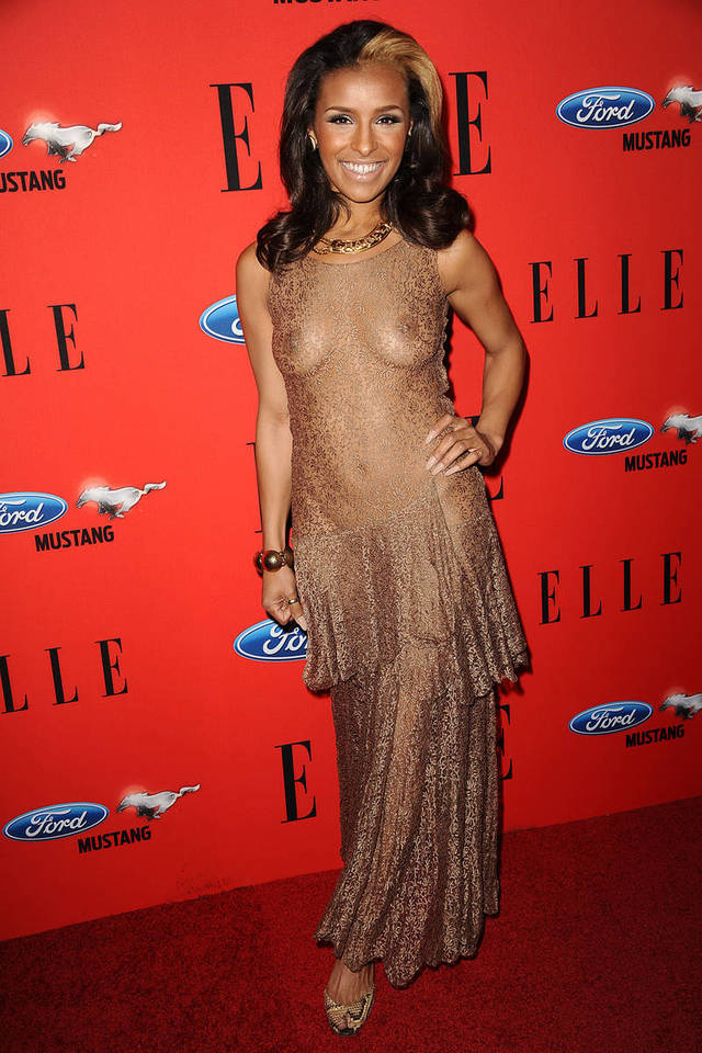 pic of naked celebs news celebrity naked assets elle carpet red dress style celebs melody fashion thornton xln