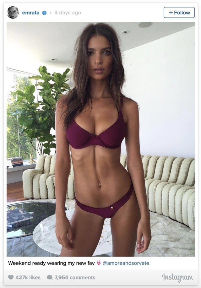pics of hot and sexy models media models hot sexy like weird emily trend become disgusting crack dnet ratajkowski