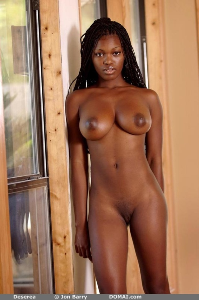 Sexy black naked women