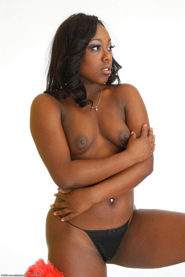 Something sexy black girl striptease seems