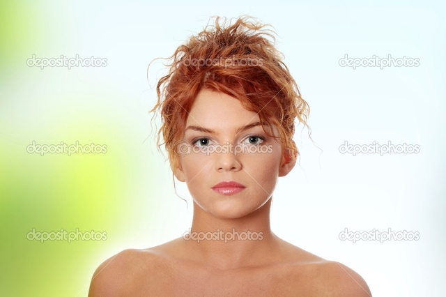 sexy red headed women young photo redhead woman stock depositphotos