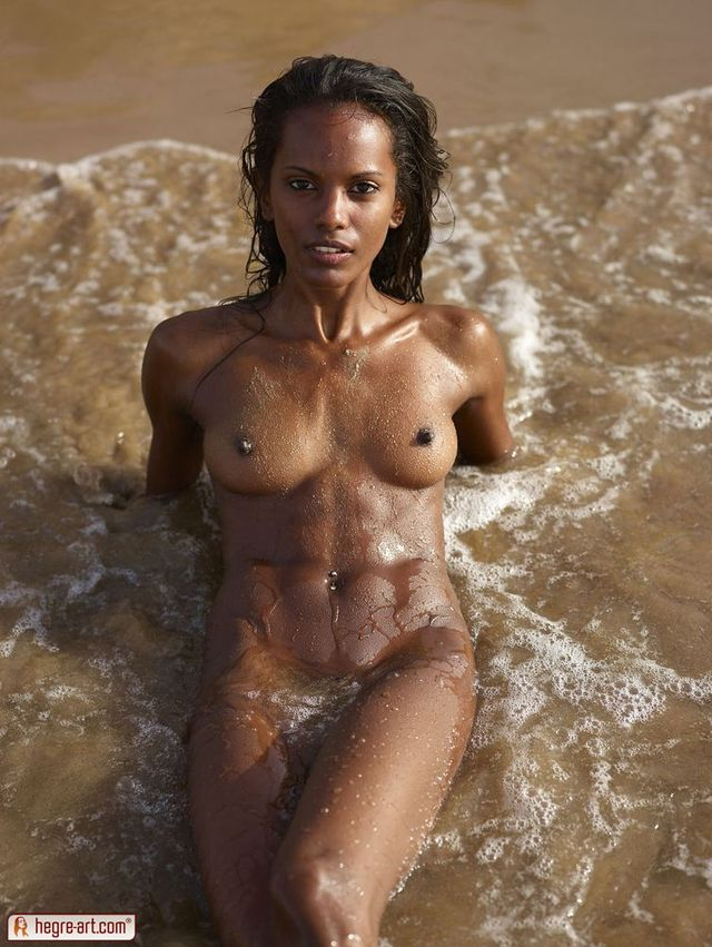 Ebony skin women nude