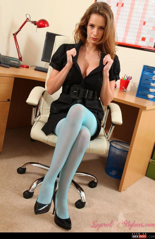 stockings office porn tits office secretary stockings wmimg topless bound teasing teased yourdailygirls