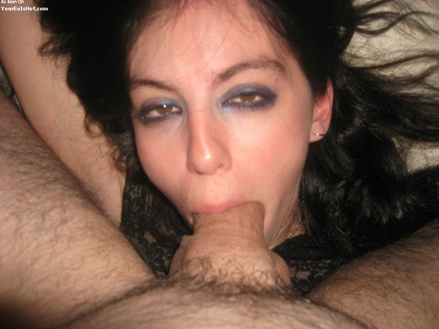 throat fucking gallery girl blowjob amateur gives girlfriend fucked scene exgf goth throat