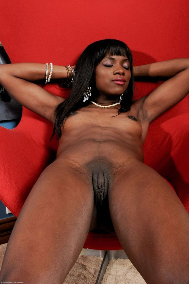 Tits small girl black with