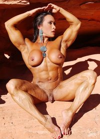big sexy naked woman pics hot muscle girl flashes clit