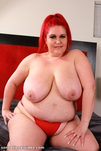 bbw porn pictures solo time fatties lustful bbw redhead gets naked