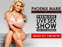 live porn phoenix marie live friends hot mom march naughty america premiere show free members category cams