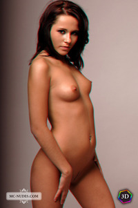 soft core porn pictures mcnudes sonia anaglyph softcore babe small titted brunette professional photo shoot