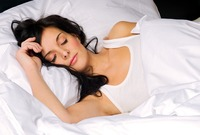 porn woman bigstock young woman sleeping general news porn stars are happier study finds
