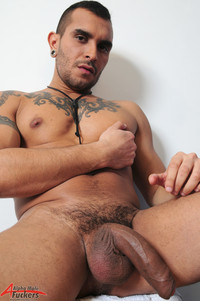 male porn porn gay free lucio saints alpha male fuckers solo fat uncut cock huge uncircumcised dick tattoos inked alternative scruffy masculine foreskin